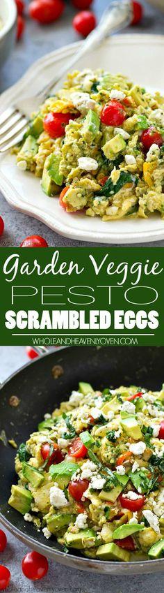 Scrambled eggs get a