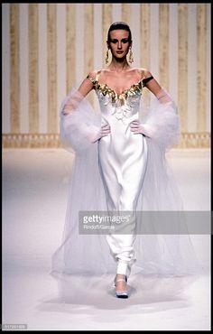 Balmain Haute Couture fashion show spring summer 1994 in Paris.