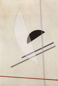 László Moholy-Nagy Composition, 1922-1923 (oil on canvas)