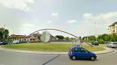 La rotonda volante di Prato.