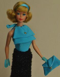 OOAK Sidepart American Girl w Atelier Fest Vintage Barbie by Juliaoriginals   eBay