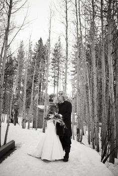 winter wedding SWOON