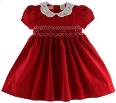 girls christmas dresses boutique christmas oufits - Smocked Christmas Dress