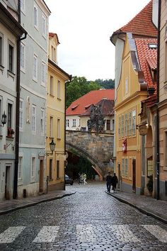 Way to Kampa island, part of my Prague Behind The Scenes Tours, www.praguebehindthescenes.com