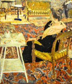 Edouard Vuillard - Madame Arthur Fontaine in a Pink Shawl, 1905 at Art Institute of Chicago IL