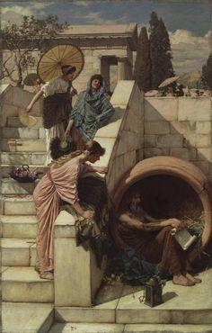 Diogenes - John William Waterhouse 1882