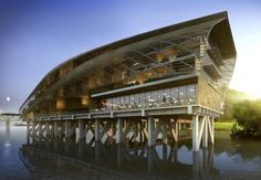Baton Rouge Municipal Dock Set to Revive Mississippi Riverfront | Inhabitat - Sustainable Design Innovation, Eco Architecture, Green Building