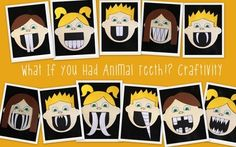 WHAT IF YOU HAD ANIMAL TEETH!? CRAFTIVITY PACK - TeachersPayTeachers.com