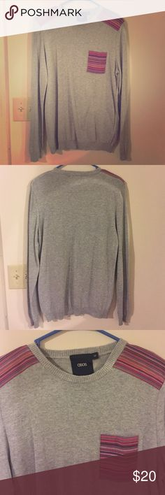 Mens asos sweater/top FINAL PRICE Perfect condition. Size medium but also fits large. Fit a person that was 6'1 ASOS Shirts Tees - Long Sleeve