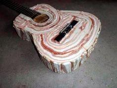 bacon guitar