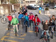 Bike to School Day a Trieste con l'International School