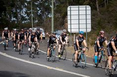 Farewell to the police escort at Calga