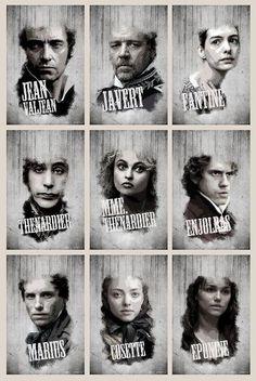 The ensemble: Les Misérables. Rory Gilmore, Theatre Geek, Musical Theatre, Theater, Victor Hugo, Les Miserables 2012, Les Miserables Characters, Love Movie, Movie Tv