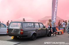 The Volvo is chock full of nasty:  Intercontimental Missile: Volvo V8 Wagon Of Fun | Speedhunters