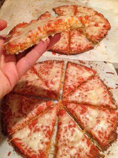 Pizza de Coliflor con Avena - Mi VidaVerde