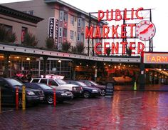 Pike Place Market - I miss seattle :'(