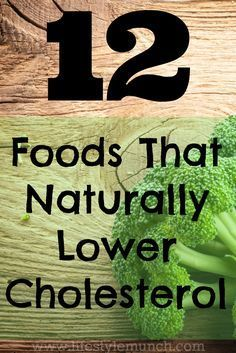 it's always best to try and treat any health issues naturally and studies have shown that simple lifestyle changes and improvements in your diet can be as effective and even more powerful than many drugs. (source: http://www.lifestylemunch.com/12-foods-that-naturally-lower-cholesterol/)