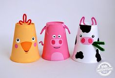 Sempre criança: http://kidsactivitiesblog.com/55662/foam-cup-craft...