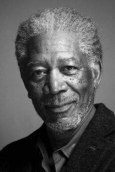 Morgan Freeman (born June is an American actor, film director, and narrator. Celebrity Faces, Celebrity Portraits, Photographie Portrait Inspiration, Actor Studio, Morgan Freeman, Morgan Morgan, Morgan Cars, Too Faced, Hollywood Actor