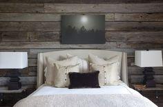 grey horizontal wall paneling
