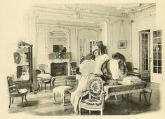 Les Createurs de La Mode 1910 - 5 - Un Salon de Vents - Callot Soeurs | Flickr - Photo Sharing! The notes accompanying this photo on CharmaineZoe's photo stream are an interesting read about the House of Callot Soeurs.