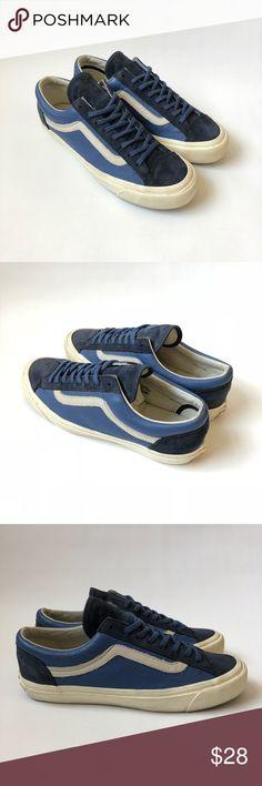 Vans OG Style 36 Old Skool Navy Leather   Suede Vans OG Style 36 Old Skool 6a3051492