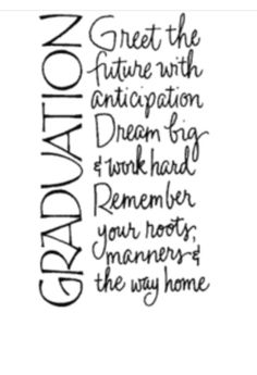 Discover and share Senior Graduation Quotes From Parents. Explore our collection of motivational and famous quotes by authors you know and love. Graduation Card Sayings, Graduation Party Decor, Graduation Ideas, Graduation Quotes For Daughter, Graduation Celebration, Congrats Grad Quotes, Graduation Card Boxes, Graduation Greetings, Graduation Photos