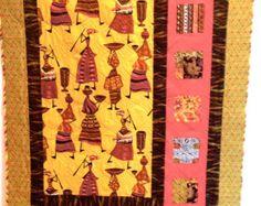 Beautiful String Quilt by SandraDeBaun on Etsy