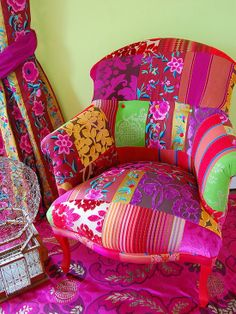 Patchwork Chair Design, Pictures, Remodel, Decor and Ideas
