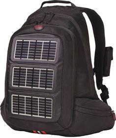 Innovative and Cool High Tech Backpacks (30) 12- SOLAR POWER!!!