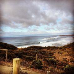 Sunday morning at southside Bells Beach. 4ft of fun peeling waves. #bells beach #southside #surfcoast #torquay #janjuc by benjackson07 http://ift.tt/1X8VXis