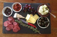 Slate Cheese Platter  Large by AnnabellStone on Etsy, $29.95