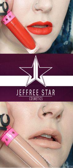Jeffree Star Velour Liquid Lipsticks in Anna Nicole and I'm Nude