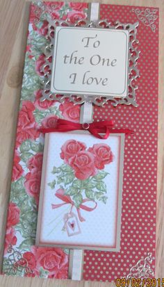 Card made from kit in Hunkydory magazine