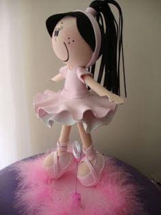 fun foam ballerina doll...photos/patterns