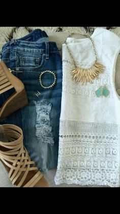 white and denims