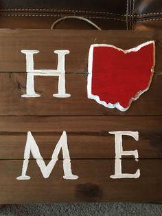 Ohio HOME sign