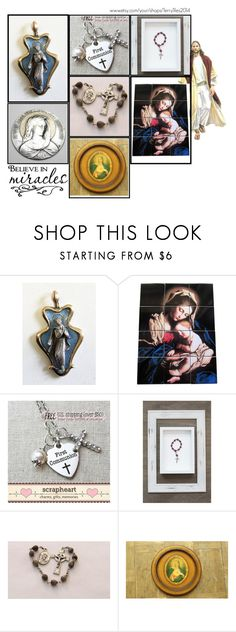 """""""Religious Art on Etsy by TerryTiles2014 - Volume 399"""" by terrytiles2014 ❤ liked on Polyvore featuring interior, interiors, interior design, home, home decor, interior decorating, FLORIAN, gift, etsy and christian"""