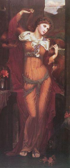 Morgan Le Fay, 1862-63, by John Roddam Spencer Stanhope (1829–1908)
