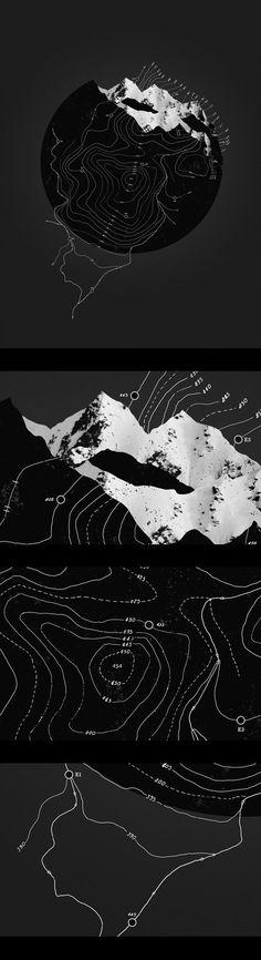 Mix of flat + 3d. Topógrafo. Land Surveyor.  Repin: Topografía BGO Navarro - Estudio de Ingeniería