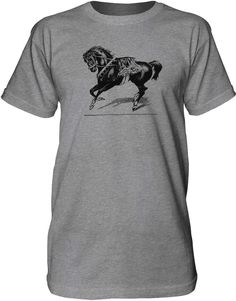 Mintage Circus Show Horse Mens Fine Jersey Tall T-Shirt