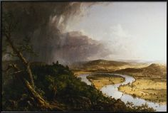e3305940592a40 View from Mount Holyoke, Northampton, Massachusetts, after a Thunderstorm -  The Oxbow Giclee Print by Thomas Cole at AllPosters.com