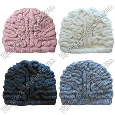 Warm wool brain hat with fleece lining. This is a very warm hat! The design mimics the brain from cerebrum to cerebellum. Our wool products are hand crafted by skilled knitters. Himalaya Hardware benefits local artisans, craft-makers, and Fair Trade projects in Nepal and India. | eBay!