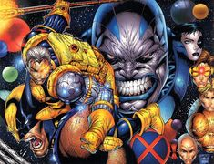 Apocalypse Now Art by: Rob Liefeld  Here is warp around cover from the The Twelve Story line.