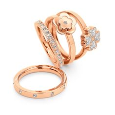 Follie follie stackable rings