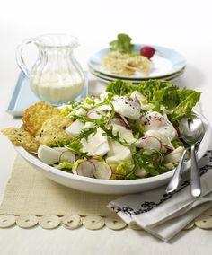 Unser beliebtes Rezept für Rucola-Radieschen-Mairübchen-Salat und mehr als 55.000 weitere kostenlose Rezepte auf LECKER.de.