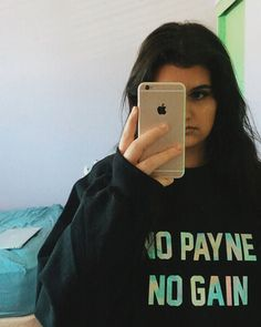 @sarabaxter_ killin' it in our No Payne No Gain sweater   shop at http://ift.tt/1K0gJ0k  10% profits donated to charity  we ship worldwide