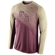 Florida State Seminoles Nike Fearless Shootaround Long Sleeve T-Shirt – Garnet