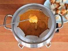 Cheesy Roasted Jalapeño Fondue | Tori Avey
