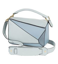 LOEWE Puzzle panelled leather multi-function bag. #loewe #bags #shoulder bags #clutch #leather #hand bags #